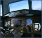 Flight Deck Display Research Lab Boeing 777 simulator [click to view image galleries]