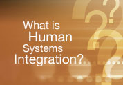 What is Human System Integration? Website